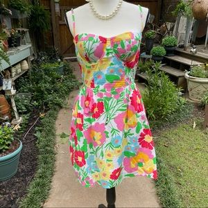 LILLY PULITZER Big Garden By the Sea Dress 6